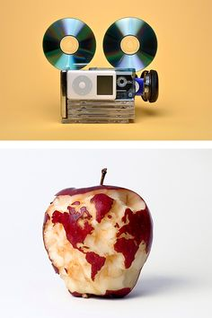 Art With Everyday Objects by Kevin Van Aelst | Inspiration Grid | Design Inspiration