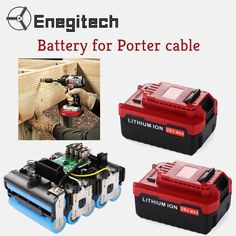 Enegitech 20V MAX Replacement Battery for Porter Cable is for sale. Visit http://amzn.to/2vI5Ey2 to buy at an affordable price. #replacementbattery #portercablebattery #batteryforportercable