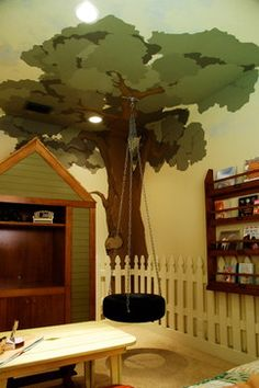 Kids indoor playhouse Design Ideas, Pictures, Remodel and Decor
