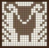 Fair Isle Knitting Patterns, Fair Isle Pattern, Knitting Charts, Knitting Yarn, Fair Isle Chart, Graph Design, Knit Mittens, Stitch Design, Handicraft