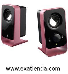 Ya disponible Altavoz Logitech ls11 2.0 rosa/negro   (por sólo 24.99 € IVA incluído):   -Atractivos altavoces para la mesa de trabajo -Calidad de audio Logitech: sonido de máxima nitidez -Toma de auriculares: para escuchar en privado -Conector de entrada auxiliar: permite conectar reproductores de MP3 o DVD para mayor versatilidad -Distribución de cables: para mantener despejado el entorno.  -Altavoces satélite: 1,5 vatios RMS x 2 en 4 ohmios a 1 KHz, con distorsión a
