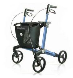 Handicare Gemino Rollator 30 midnight blue Leichtgewicht-Rollator Testsieger Edition blau