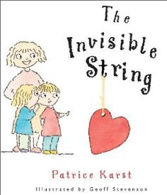 Love this book - great support for separation anxiety.  Lovely, tangible way to show kids that you are always with them no matter what!