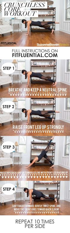 Work the abs and cor
