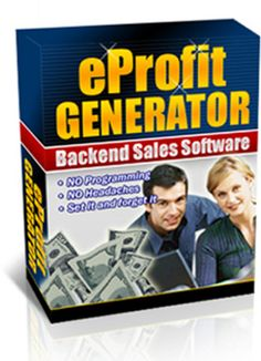eProfit Generator: Back-end for your PayPal Sales (MRR)