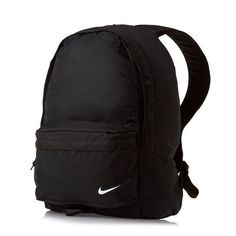 as a teen: Jack would wear a black nike backpack with a small white Nike tick in the corner!Backpack as a teen: Jack would wear a black nike backpack with a small white Nike tick in the corner! Nike School Backpacks, Cute Backpacks For School, Trendy Backpacks, Leather Backpacks, Leather Bags, Backpacks For College, Canvas Backpacks, Mochila Adidas, Bags For Teens