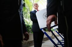 """it literally took me 35 minutes to try to cherry pick something about voting from this guy. Wowza. Here it is,:  """"Trump: I want to see voting laws so that people that are citizens can vote.""""  jng Vote Quotes, Voter Id, Donald Trump, Cherry, Guy, People, Donald Tramp, Prunus, People Illustration"""