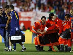 Luis Suarez in tears after injury could miss Copa America