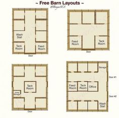Storage Room Layout Garage New Ideas Barn Stalls, Horse Stalls, Dream Stables, Dream Barn, Barn Layout, Horse Farm Layout, Horse Barn Designs, Horse Barn Plans, Horse Ranch