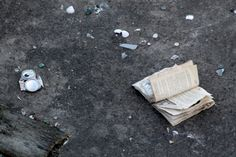 The Book of Abandonment by DWhitePhotography on Etsy
