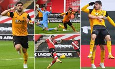 Southampton 1-2 Wolves: Pedro Neto fires superb winner to hand Saints SIXTH league defeat in a row | Daily Mail Online Wolverhampton Wanderers Fc, Man Of The Match, Soccer Stuff, Own Goal, Fa Cup, The Visitors, Southampton, Wolves, Handball