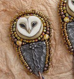 Little Hoot Owl earrings by HeidiKummliDesigns on Etsy