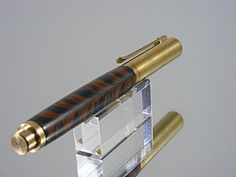 Handmade Every Day Carry Fountain Pen with 6061-T6 Aluminum and Ebonite Industrial EDC Pen