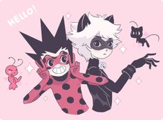Hunter x Hunter and the Miraculous Ladybug crossover