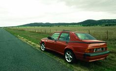 Can An Alfa Romeo 75 Survive These Mad Max Roads?