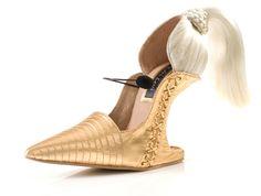 zapato cabello, zapatos creativos, zapatos divertidos, zapatos inusuales, Kobi Levi