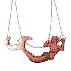 Mermaid Necklace.