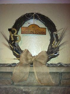 Hunting Wreath