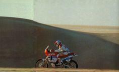 Zanichelli, Aprilia Tuareg 600.