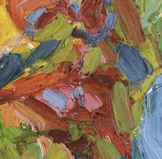 Painting Exhibition: Vincent van Gogh and Expressionism : Detail from Karl Schmidt-Rottluff's Self-Portrait