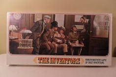 BOARD GAME : Vintage 1974 THE INVENTORS Parker Brothers board game of crazy inventions