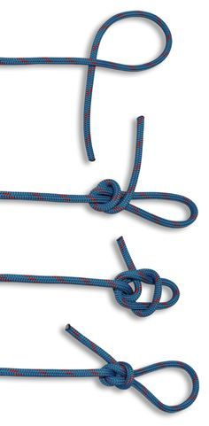The Angler's Loop is an easy to tie fixed loop. It is also known as the Perfection Loop. In this HOW TO TIE KNOTS learn how to tie a Angler's Loop. Rope Knots, Macrame Knots, Tie The Knots, Tying Knots, Survival Knots, Survival Prepping, Survival Skills, Fishing Knots, Fishing Tips