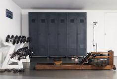 stylish exercise room