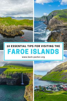 10 best things to do in the Faroe Islands and an itinerary for exploring these magnificent Danish islands. Rent a car and head to the most Instagrammed spot in Gásadalur: Mulafossur Waterfall. Find the perfect hotel in Tórshavn or on the island of Vágar. Hike to the lighthouse on Mykines and witness the huge population of Puffins first-hand. Travel in the Faroe Islands. | Back-packer.org #FaroeIslands