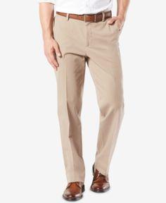 b570fc2d Dockers Men Workday Smart 360 Flex Classic Fit Khaki Stretch Pants D3