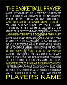 The Basketball Prayer personalized,Basketball Prayer, Senior Night, Sports Banquet, Christian Athlet Basketball Is Life, Basketball Workouts, Basketball Quotes, Basketball Games, Soccer Memes, Basketball Shooting, Basketball Sneakers, Basketball Season, Basketball Legends