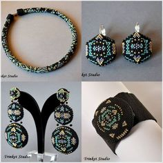 #PUK, #Mab, #Miranda , #Earrings, #necklace, #bracelet , #TrinketStudio, #Beading, #Swarovski, #peyot , #stitch, #geometrical, Polandhandmade.pl , #Polandhandmade , #beadedbeads , #beaded, #beads,