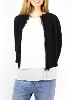 This is our 'Cardigan' collection from a variety of our favourite brands. Rose Clothing, Short Fringe, Cardigans, Sweaters, Knitwear, Closet, Collection, Black, Fashion