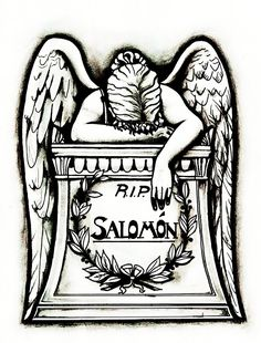 35 Best Angel Tombstone Tattoos Images In 2017 Tombstone Tattoo