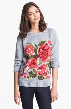 Joie 'Wilona' Intarsia Sweater available at #Nordstrom