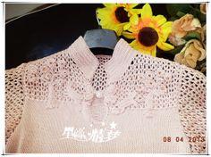 Chinese silk short-sleeved shirt cloud - knitting and crochet - chart pattern