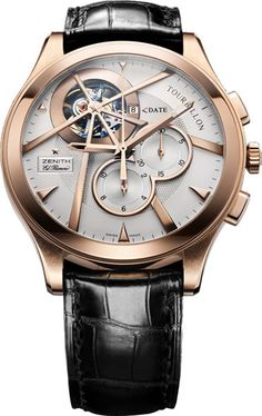 Zenith-Grande-Class-Tourbillon-gold. I like the uniqueness of this one a lot