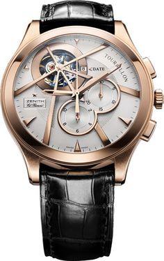Zenith-Grande-Class-Tourbillon-gold #Watch