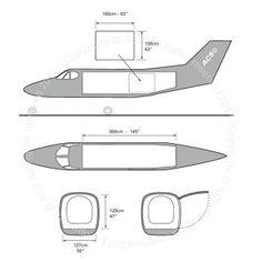 Kingair 90 freighter diagram (ACS http://www.aircharterservice.com/)