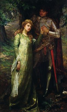 A Knight and His Lady by William  G MacKenzie