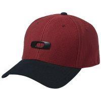 Oakley Metal Gascan Cap 2.0 '15 Men's Flexfit Hats, color: Jester Red, category/department: men-hats