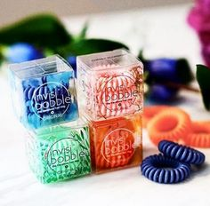 So many juicy colors! invisibobble®  #hairlove