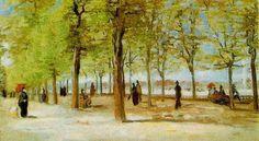 1886 Vincent van Gogh - Alejka w Jardin du Luxembourg