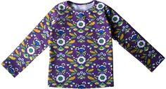 In een andere stof ook geschikt voor jongens. de droomfabriek: Gratis patroon en werkbeschrijving tricot shirt maat 104