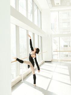 Christine Rocas - Joffrey Ballet Photo by Gina Uhlmann -Fashion, Advertising & Dance Photographer.