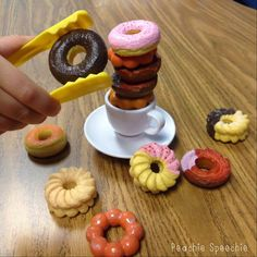 How to use the game Donuts in speech therapy