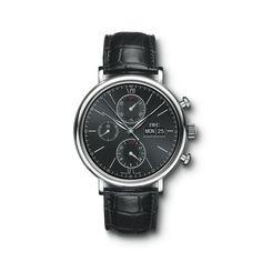#Acejewelers IWC Portofino Chronograph