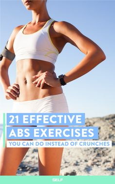 21 Of The Best Abs Exercises You Can Do Without Equipment | SELF