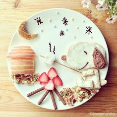 #FoodArt ispirata a #Snoopy