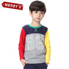 $20.75 (Buy here: https://alitems.com/g/1e8d114494ebda23ff8b16525dc3e8/?i=5&ulp=https%3A%2F%2Fwww.aliexpress.com%2Fitem%2FMeney-s-Boys-Spring-T-Shirts-2016-Children-No-86-Streetwear-Tees-Kids-Casual-Outwear-Full%2F32544065164.html ) Meney's Children Autumn T-Shirts Boys Children No. 86 Streetwear Tees Kids Casual Outwear Full Sleeve Patchwork Color Tshirts for just $20.75