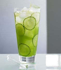 Cucumber cocktail #recipes